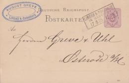 DR Ganzsache R3 Lindau B. Northeim In Hannover 17.8.85 - Briefe U. Dokumente