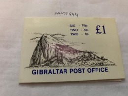 Gibraltar Booklet With 10 Stamps 1981 Mnh - Gibraltar