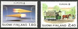 Cept 1988 Finlande Finland Suomi Yvertn° 1015-1016 *** MNH Cote 10 € Transport Communication - Europa-CEPT
