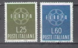 Italia 1959; Europa Cept, Michel 1055-1056.** (MNH) - 1959
