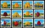 Canada (Scott No.1524a-L - Jour Du Canada / 1994 / Canada Day) (o)  Série / Set - 1952-.... Règne D'Elizabeth II