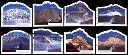Canada (Scott No.1960a-f - Année Des Montagnes / Year Of The Mountains) (o) Série /set - 1952-.... Règne D'Elizabeth II