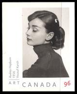 Canada (Scott No.2272 - Audrey Hepburn Par Yousuf Karsh / Self Portrait) (o) - 1952-.... Règne D'Elizabeth II
