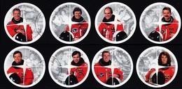 Canada (Scott No.1999a-h - Astronautes Canadiens / Canadian Astronauts) (o) Série / Set - 1952-.... Règne D'Elizabeth II