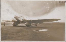 Aviation - Photographie - Avion Monoplan - Photographe André Le Bourget - 1919-1938: Between Wars