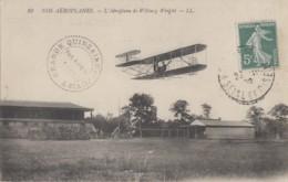 Aviation - Nos Aéroplanes - Avion De Wilburg Wright - Juvisy 91 Port-Aviation - 1909 Editeur LL N° 10 - ....-1914: Précurseurs