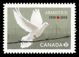 Canada (Scott No.3131 - Armistice) (o) Adhesive - 1952-.... Règne D'Elizabeth II