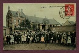 """LONGUEAU  ( LONGEAU )  (80) : """" L'ECOLE DES GARCONS """" - Longueau"""