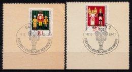 DDR 1967  Mi.nr. 1333-1334 Volkskunst  OBLITÉRÉS-USED-GEBRUIKT - [6] République Démocratique