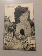 VALLON Ruines Du Vieux Chastelas - Vallon Pont D'Arc