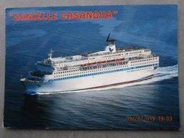 "CP 20 Corse > Marseille - PAQUEBOT TRANSBORDEUR "" Danielle Casanova "" 1995 - Paquebots"