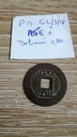 Monnaie AsiatiqueEmpereur Chinois Sheng Tsu (1662-1722) La Face écrite En Chinois : K'ang Tsi Tung Pao = Titre Du Règne - China
