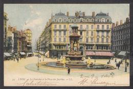 78232/ LYON, La Fontaine Et La Place Des Jacobins - Lyon