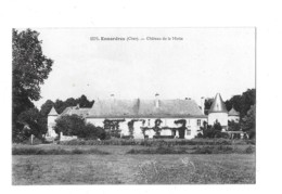 Ennordres (Cher)   Château De La  Motte - France