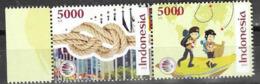 INDONESIA, 2019, MNH, SCOUTS, 2v - Nuevos