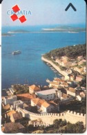 CROATIA(GPT) - Hvar, CN : 4CROF(normal 0), Tirage %87105, 02/92, Mint - Kroatien