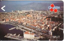 CROATIA(GPT) - Split, CN : 4CROE(0 With Barred), Tirage %88110, 02/92, Mint - Kroatien