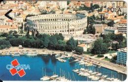 CROATIA(GPT) - Pula, CN : 4CROE(normal 0), Tirage %86875, 02/92, Mint - Kroatien