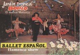 (MALL2451) MALLORCA. EL ARENAL. GARDEN NIGHT CLUB BOHIO. FLAMENCO SHOW - Mallorca