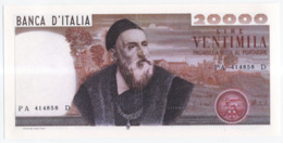 COPY Of Italy 's 20,000 Lire Banknote Tiziano - 20000 Lire