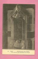 C.P. Theux = Mémorial Dans  L' Eglise à La Mémoire Des  Combattants  1914-1918 - Theux