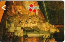 CROATIA(GPT) - St. Vlaho, CN : 2CROD/B(normal 0), First Issue 400 Units, 06/91, Mint - Kroatien