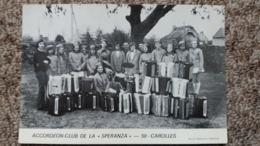 ACCORDEON CLUB DE LA SPERANZA 50 CAROLLES MANCHE IMPR DE L AVRANTIN AVRANCHES - Frankrijk