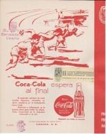II JUEGOS MEDITERRANEOS DE BARCELONA DEL 16 AL 25 JULIO DEL 1955 CON DOBLE SELLO DEL C.O.E (COCA-COLA-COKE) - Afiches Publicitarios