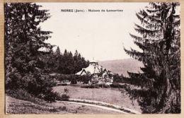 X39027 MOREZ Jura Maison De LAMARTINE 1938s De Mathilde à  Nénette De GRIVEL Rue Grand-Couvent Nîmes-PROST Cliché PONAR - Morez