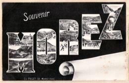 X39030 MOREZ Jura Souvenir De Multivues Lettre Edition PAGET 1905 à Juliette Renée GINESTOUS Belley - Morez