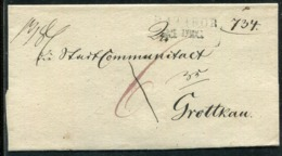 Preussen / Vorphila-Briefhuelle L2 RATIBOR (Fe. 2868-1) (25037) - Alemania
