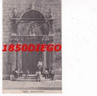 OSSERO - PORTALE DEL DUOMO ( CROAZIA )  F/PICCOLO  VIAGGIATA ANIMATA - Trieste (Triest)