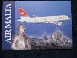 Air Malta A 320, Airline Issued Card - 1946-....: Era Moderna