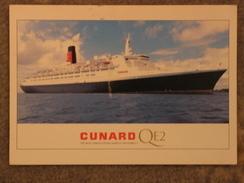 CUNARD QUEEN ELIZABETH 2 (QE2) OFFICIAL - Steamers