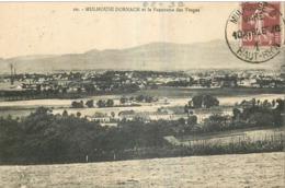 "Cachet ""Mulhouse 2 Gare 1926"" Semeuse Frappe Superbe Luxe Pour Chatellerault - Marcophilie (Lettres)"
