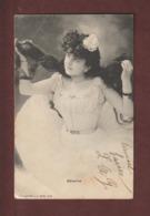 Cpa - Carte écrite En 1904  -  Ballerine  - Voir Les 2 Scannes - Mode