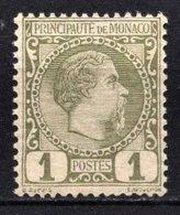 MONACO 1885 / 1914 -  Y.T. N° 1  -  NEUF**  /1 - Monaco