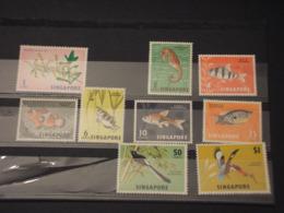 SINGAPORE - 1962/8 - PITTORICA 9 VALORI - NUOVI(++) - Singapore (1959-...)