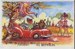 59 - GHYVELDE - AMITIES - CARTE ILLUSTRATEUR BOZZ - Autres Communes