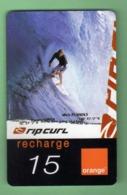 ORANGE REUNION *** RECHARGE 15€ *** SURF *** (A105-P10) - France