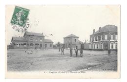 (24920-62) Carvin - Place De La Gare - France