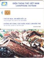 VIETNAM(chip) - Pho Co Hoi An, Cardphone Vietnam Telecard 150000D, Chip GEM3.3, CN : 0300, Used - Vietnam