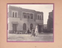 TOZEUR Tunisie Le Bureau De Poste PTT Télégraphe Téléphone Septembre 1923  Photo Amateur Format Environ 5 X 3,5 Cm - Lieux