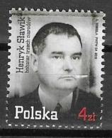 POLAND, 2019, MNH, HENRYK SLAWIK, WWII, DIPLOMATS, POLITICIANS, SAVIOUS OF JEWS IN WWII,1v - WW2