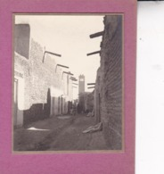 TOZEUR Tunisie Ambiance De Rue Septembre 1923  Photo Amateur Format Environ 5 X 3,5 Cm - Lugares