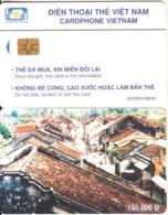 VIETNAM(chip) - Pho Co Hoi An, Cardphone Vietnam Telecard 150000D, Chip GEM3.3, CN : 0200, Used - Viêt-Nam