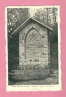 C.P. Theux = FRANCHIMONT : Chemin  De SASSOR  :  Mémorial  LAGUESSE - Theux