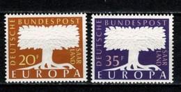 Saar 1957 EUROPA Yv. 384/85**, Mi 402/03**,  MNH - 1957-59 Fédération