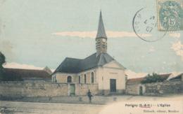 94) Périgny : Eglise (1907) - Perigny