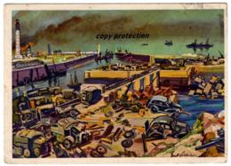 Hafen Von Dünkirchen Am 4.6.40, Künstler Postkarte Nach Ernst Vollbehr, Westfront, Dunkerque, WW2 - Dunkerque